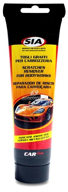 Scratches remover for bodyworks.