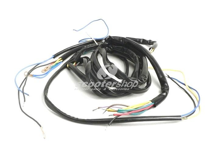 Wiring loom for Vespa Sprint, GT, TS, RALLY 180