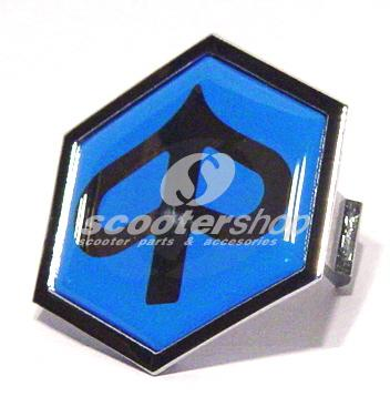 Emblem for horn cover hex glossy for Vespa PX - Piaggio Typhoon