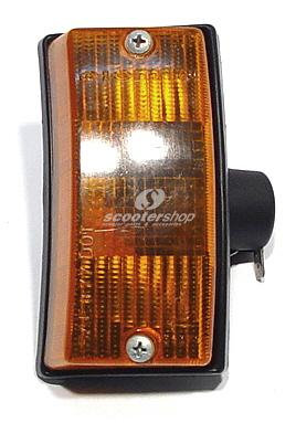 Indicator front right Vespa PE-PX orange