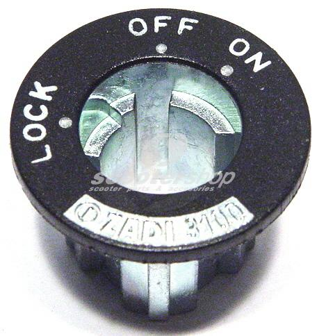 Central  switch (ON-OFF) cap Vespa PX
