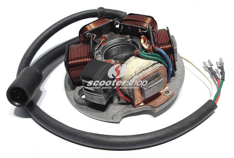 Stator assembly with 3 wires for Vespa PK 50 - 125 XL-FL