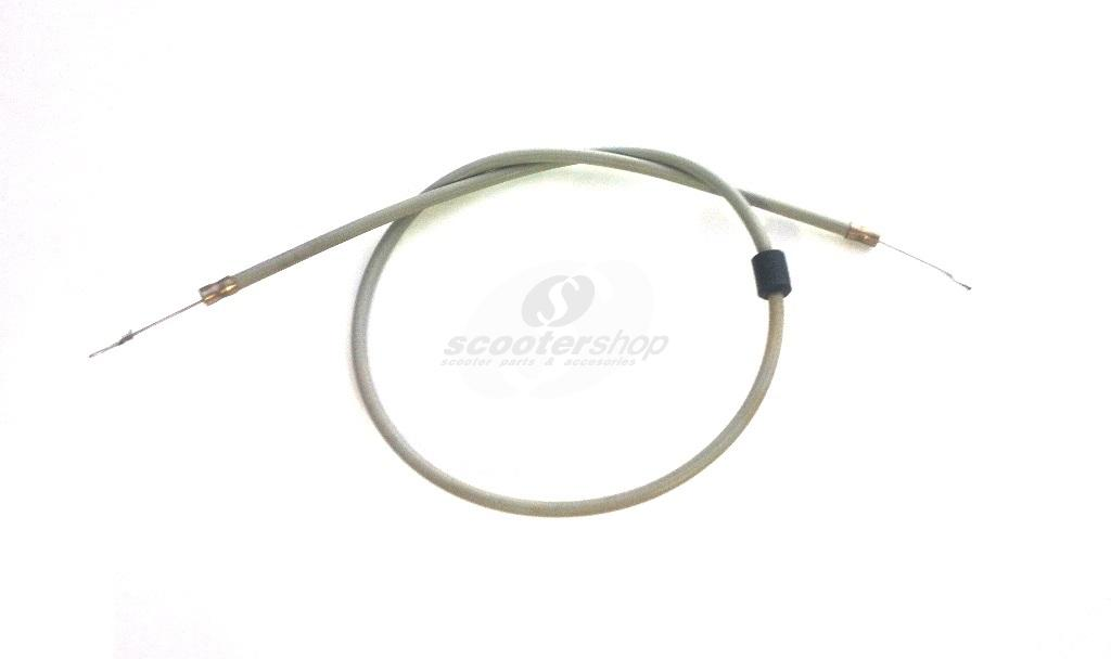 Choke Cable for Vespa Rally , PX80 -200E  T5,  for model with separate lubrication .