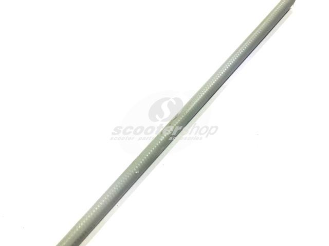 Cable Sleeve, grey, outer d 5,2 mm, interior d 4,5 mm, for cables up to 2,2mm, grey (1 meter)