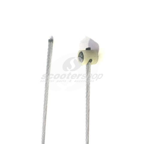 Clutch cable for Vespa PK50 XL FL, HP, XL2, PK125 XL2, Cosa II without sleeve, with barrel nipple, l (cable 1790mm, Ø 2,5 mm