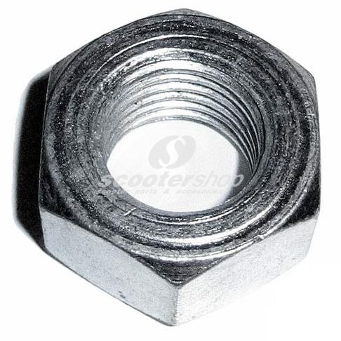 Central engine spindle nut for Vespa PE-PX-Cosa.