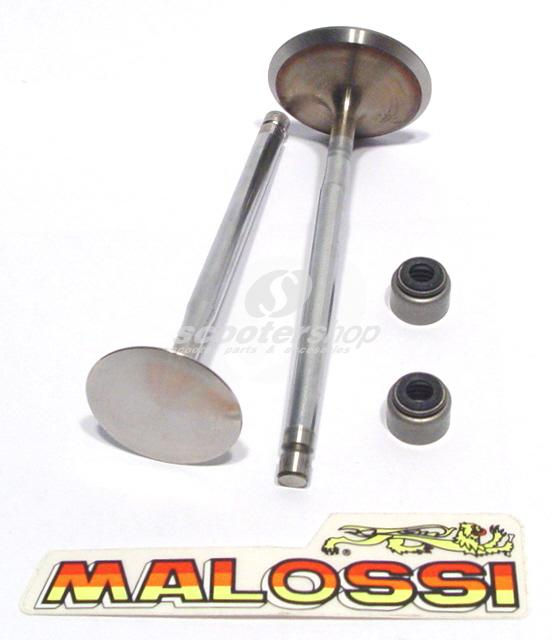 Valve kit incl.springs for Piaggio-Gilera 125-180-200-250 (titanium)