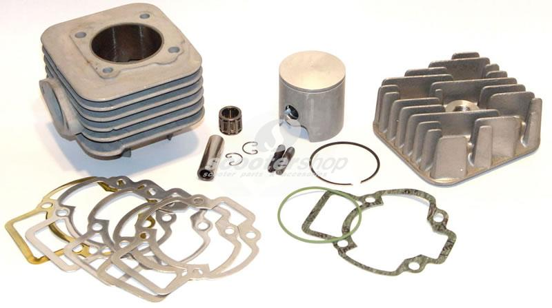 Cylinder kit Malossi for Yamaha 3 KJ (JOG)-CPI MHR- GB 12 MM 47,6 MM-Single Ring