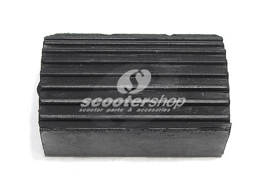 Rubber for rear brake pedal, Vespa old model