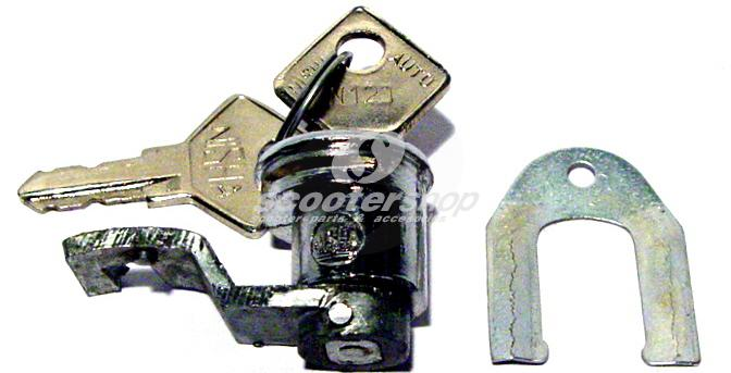 Left panel tool box lock Vespa 125 VNA, VNB, 150 VB1, VBA, VBB, VL1, GL, GS 150