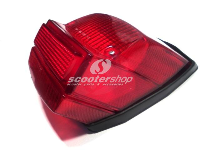 Rear light complete for Vespa 50 (vespino) - Primavera - ETS