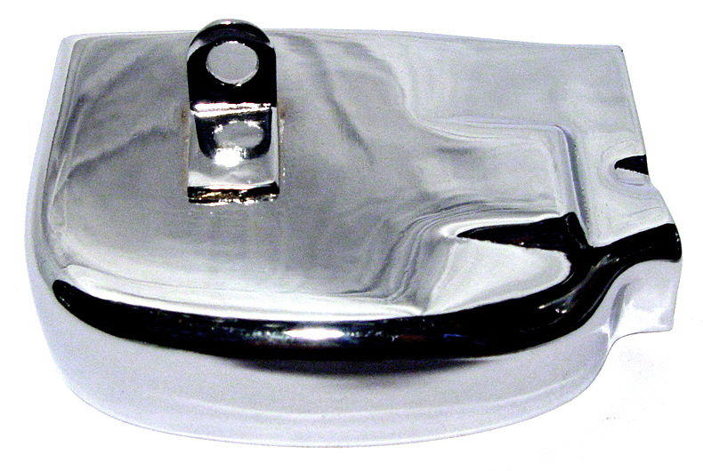 Gear selector cover Vespa Px stainless steel polished