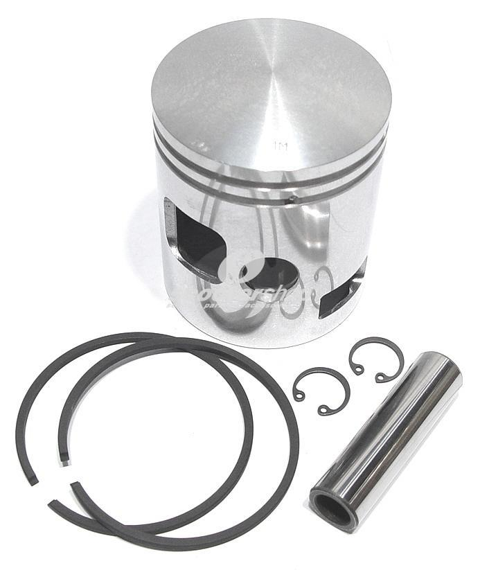 Piston for Vespa Rally-PE-PX 4 th Oversize 67,3 mm, Gol, Milano, pin 16 x 59 mm, 2 rings
