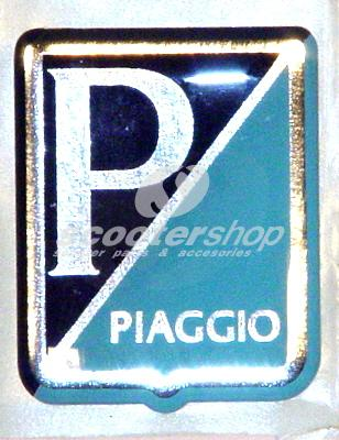"Emblem ""PIAGGIO"", for Vespa 125 GT/Sprint/Super  -> 1967 /150 VBA/VBB/GL/GS VS5/Sprint/Super ->1967/160 GS/180SS"