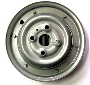 Wheel rim for Vespa 50 - Vespino silver