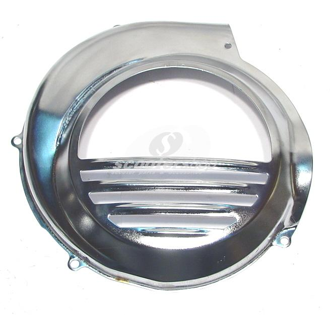 Flywheel cover chrome for Vespa PX-Cosa (with electric start)