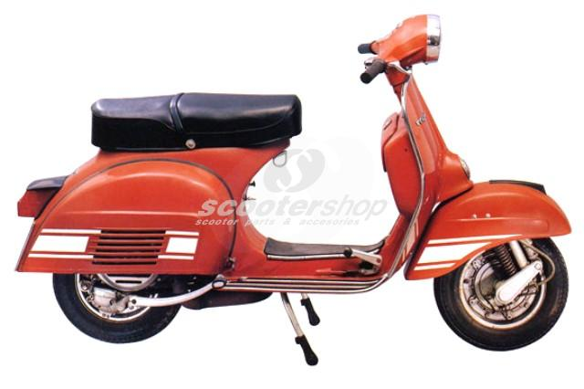 Sticker set for Vespa Rally Electronic.