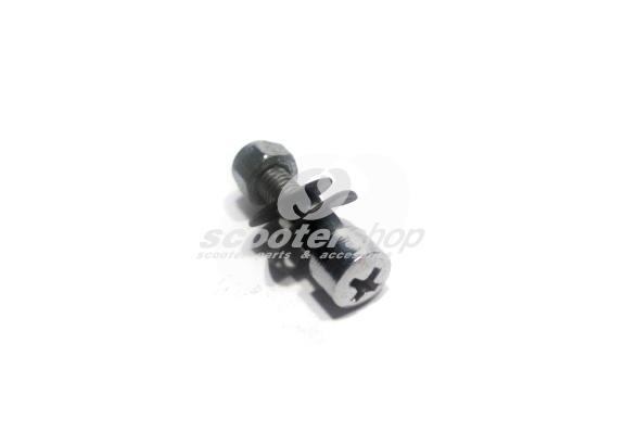 Screw and nut for levers Vespa