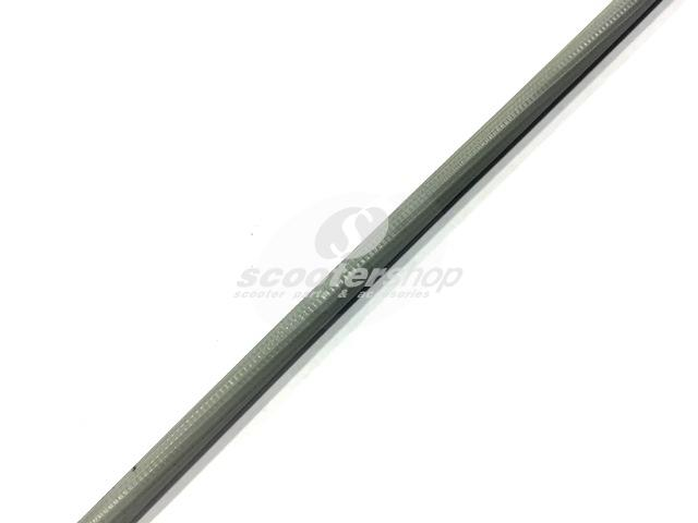 Cable Sleeve, Vintage, outer d 4,4mm, interior d 3,9mm, for cables up to 2,2mm, grey ( 1 meter)