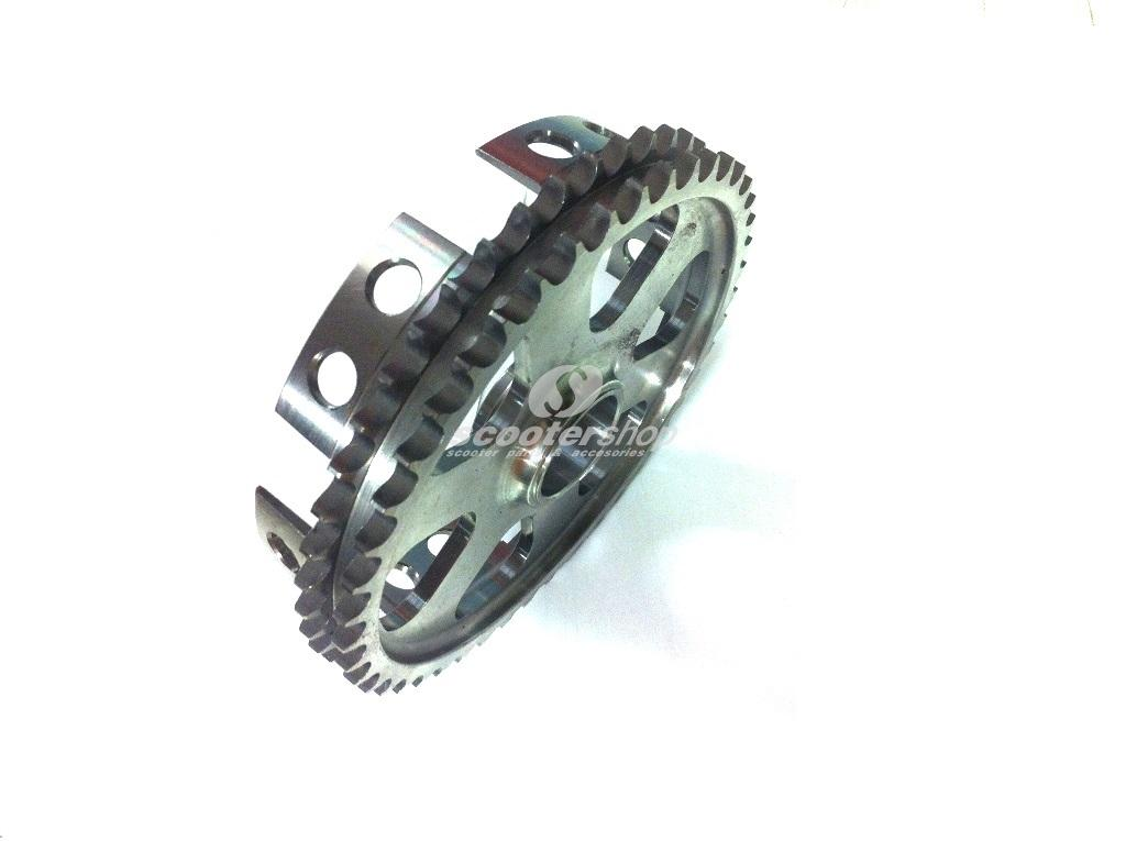 Rear sprocket Racing, light type for all Lambretta Series 1, 2 and 3 scooters.