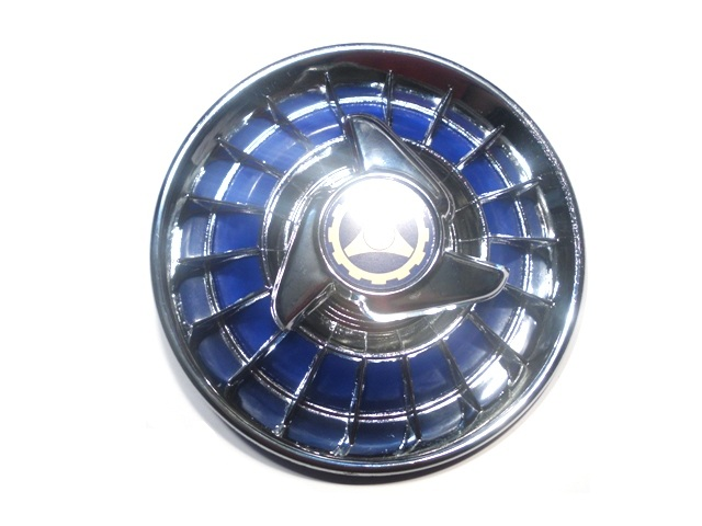 Brake drum cover blu-chromed for Vespa with 8' wheel