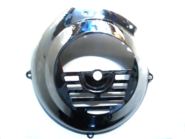 Stainless Steel flywheel cover for Vespa 50 - 125 - Primavera - Vespino