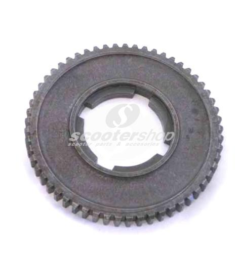 Gear Cog 57 teeth, 1st gear, for Vespa PX150-200 E,`98,MY,`11,Cosa 150-200, d: 117 mm, h 11 mm.