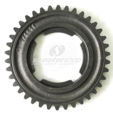 Gear Cog 38 teeth, 3rd gear, PX ARCO for Vespa PX125-200 E ARCO`98,`11,T5 ,Cosa .
