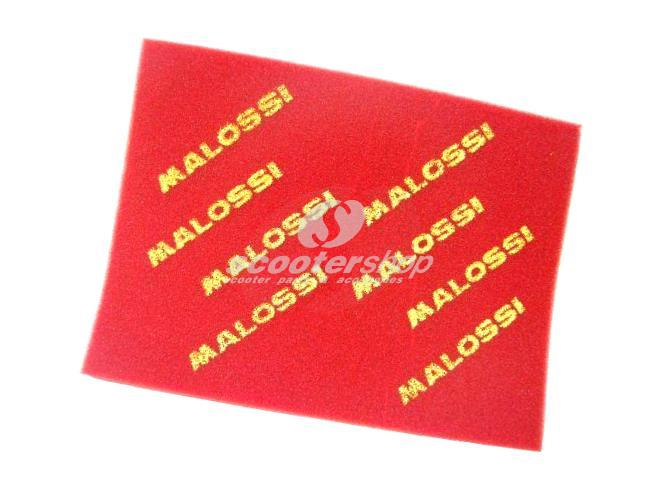 Air Filter Sponge MALOSSI Double Red Sponge, Universal 420 x 297mm