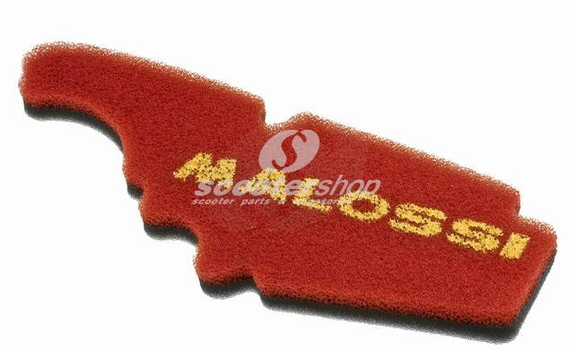 Air Filter Sponge MALOSSI Double Red Sponge, for Vespa LX/LXV/S 50-150ccm 4T, AC also for APRILIA /PIAGGIO Sportcity/Fly/X8