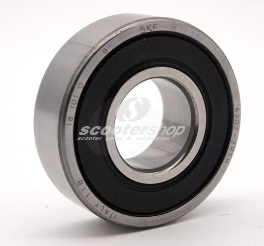 Bearing brake drum 20mm with dimensions 15x35x11mm for Vespa Pe, Px, Pk, Cosa, T5.