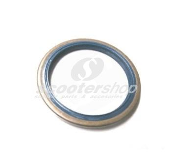 Oil seal brake base plate 16mm front for Vespa/PX80-200E ,P200E, 42x52x4 mm