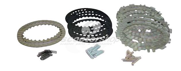 Clutch Friction Plates Malossi  for original clutch for Yamaha  500 T-Max from 2004-2011.