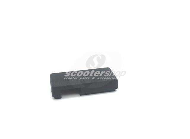 Cover indicator switch, for Vespa P80-150X,P80-200E, until 1982,  plastic, black