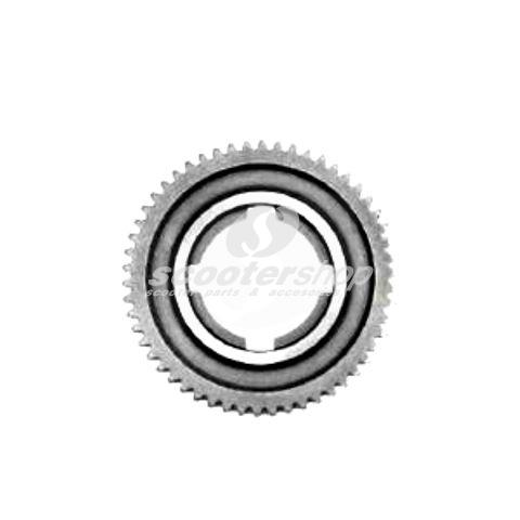 2 th gear, 54 teeth, for Vespa 125 GT, GTR, TS, 150 GL, Sprint, Sprint Veloce, P125-150X 1st series, d: 109,5 mm
