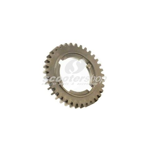 3 rd gear, 48 teeth, for Vespa 125 GT, GTR, TS, 150 GL, Sprint, Sprint Veloce, P125-150X 1st series, d: 102 mm