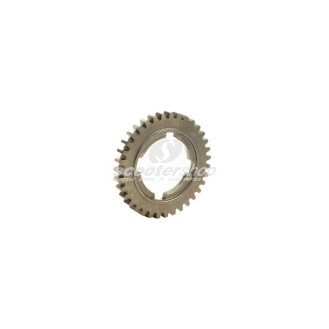 4 th gear, 44 teeth, for Vespa 125 GT, GTR, TS, 150 GL, Sprint, Sprint Veloce ,P125-150X 1st series,   d: 92,5 mm