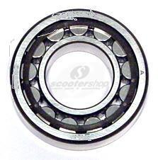Bearing magneto side NRB for Vespa Gs 160-Ss 180-Rally 180-T5 and Lambretta Li 125-150 I-II-III series - TV (NOT GP-DL) -NU205 - 25 x 52 x 15