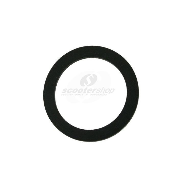 Gasket tank cap 38x51x2,6mm for Vespa PX after 1984, T5, PK XL, PK FL, LML.
