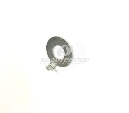 Washer suspension bolt, for Vespa GT, GTR,TS, Sprint, Sprint Veloce, Rally  1,3 x 12,3 x 26 mm.