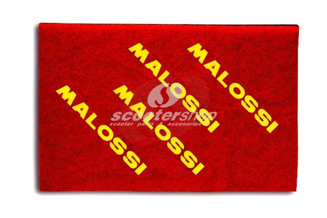Air Filter Sponge Malossi Double Red 210x297mm