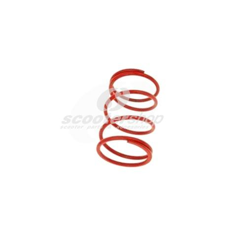 Contrast Spring red MALOSSI for multivars  M5111258, M5111397, M5111885 and original Variator, stiffness 7,5 k (+30%), thikness 4,7mm,  l 108 mm, d 65 mm