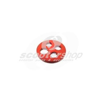 Rubber gasket fuel tap VITON for all the Vespa from 1962 till today, 4 holes, d:21mm, h 2mm