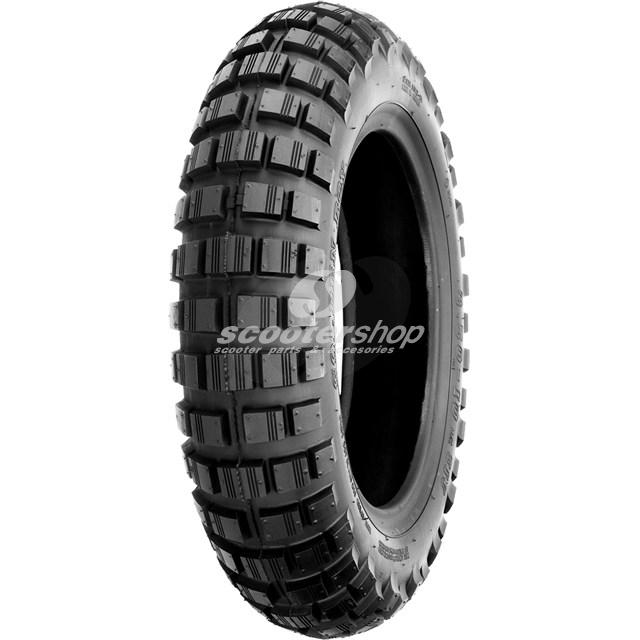 Tire 3.00 - 10 Golden Boy SR421, 51J, for use with tube,Trial - Off Road off Vespa.