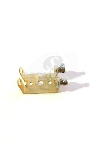 Bulb holder for 2 bulbs. With this you can modifie taillights with 1 bulb (07043, 07714)