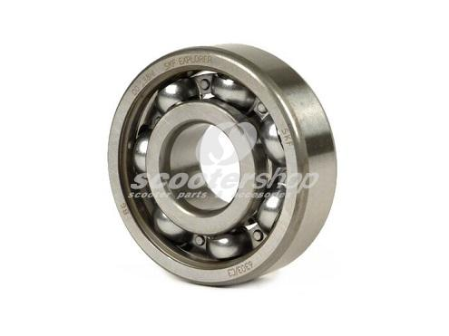Bearing Crankshaft clutch side  for Vespa 50-125/PV/ET3/PK50 -125/S/XL/XL2/Ape 50,  SKF, C3, 17x47x14 mm