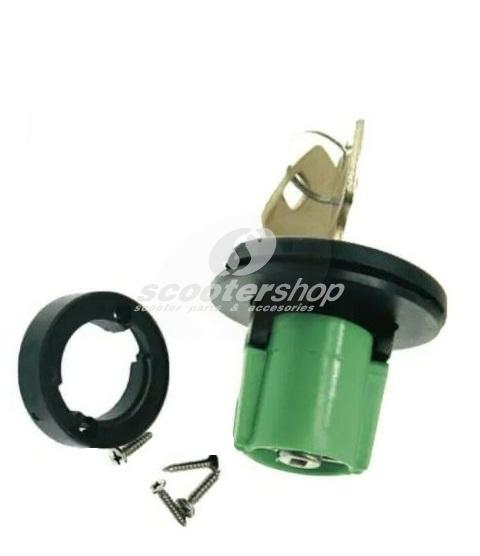 Tank cap for Piaggio Ape 1st series up to 1998, with keys for plastic tank