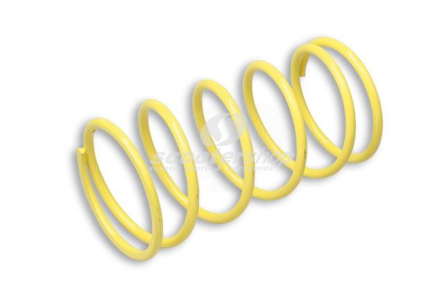 Spring for variator Malossi yellow, for Suzuki 400 4T 78x150mm Ø 5,5mm 6,0k