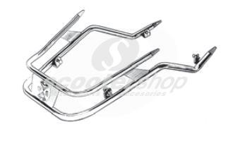 Front bumber double pipe chromed for Vespa PE-PX-LML