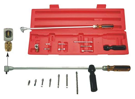 Tool for carburettor adjustment